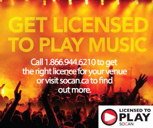 Get Licensed to Play Music - SOCAN