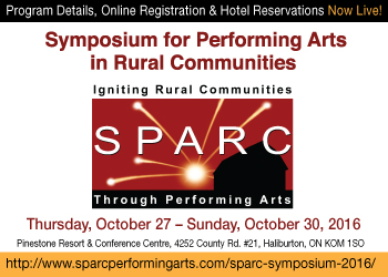 Symposium for Performing Arts in Rural Communities - October 27-30,2016
