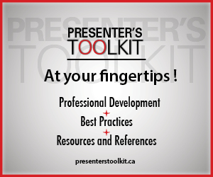 Presenter's toolkit: professional development, best practices, resources and references
