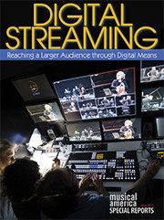 Digital streaming report cover