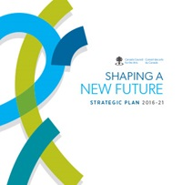 Shaping a new future: Strategic plan 2016-2021