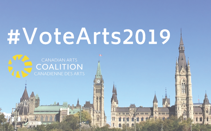 #VoteArts2019