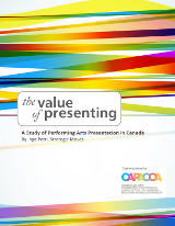 The Value of Presenting report cover