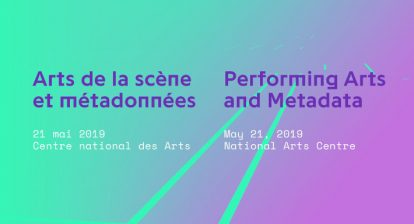 Performing Arts and Metadata