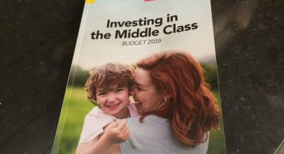 Investing in the Middle Class - Budget 2019