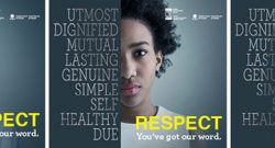 Banner for Respect: You've Got Our Word