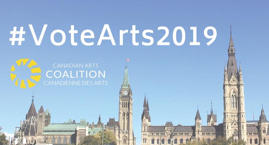 bâtiment du Parlement - #VoteArts2019