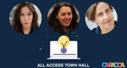 All Access Town Hall speakers